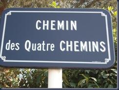 Panneau Chemins
